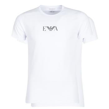 Oblečenie Muži Tričká s krátkym rukávom Emporio Armani CC715-111267-04712 Biela
