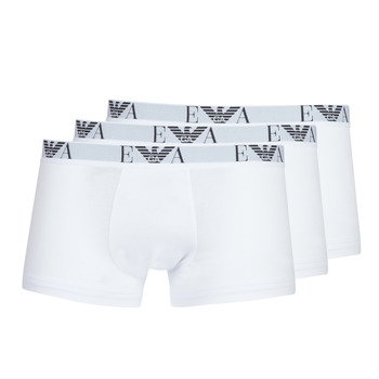 Spodná bielizeň Muži Boxerky Emporio Armani CC715-111357-16512 Biela