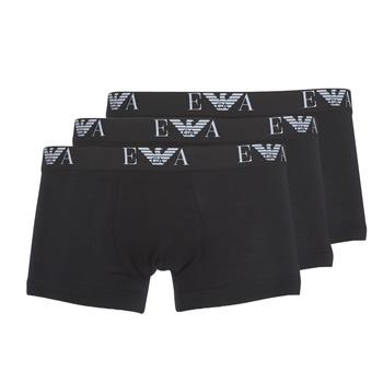 Spodná bielizeň Muži Boxerky Emporio Armani CC715-111357-21320 Čierna