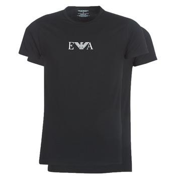 Oblečenie Muži Tričká s krátkym rukávom Emporio Armani CC715-111267-07320 Čierna