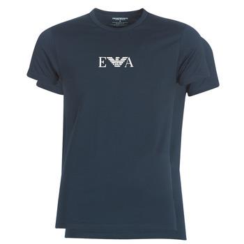 Oblečenie Muži Tričká s krátkym rukávom Emporio Armani CC715-111267-27435 Námornícka modrá