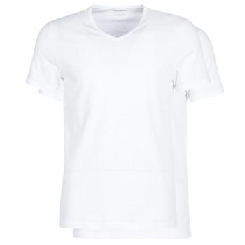 Oblečenie Muži Tričká s krátkym rukávom Emporio Armani CC722-111648-04710 Biela