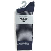 Doplnky Muži Ponožky Emporio Armani CC114-302302-00035 Námornícka modrá