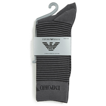 Textilné doplnky Muži Ponožky Emporio Armani CC114-302302-00044 Šedá