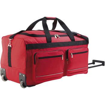 Tašky Pružné cestovné kufre Sols VOYAGER BIG TRAVEL Rojo