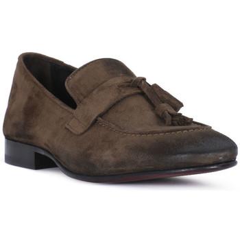 Topánky Muži Mokasíny Pawelk's OLD CACAO Marrone