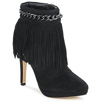 Topánky Ženy Čižmičky Bourne SANDY Čierna