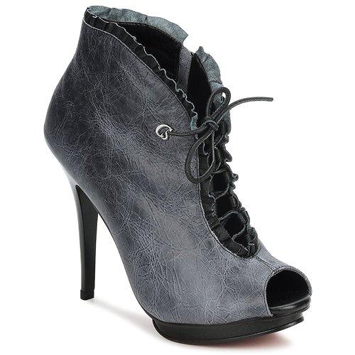 Topánky Ženy Nízke čižmy Carmen Steffens 6002043001 Čierna / Šedá