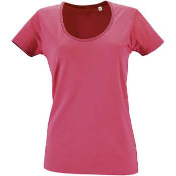 Oblečenie Ženy Tričká s krátkym rukávom Sols METROPOLITAN CITY GIRL Rosa