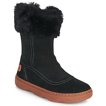 Topánky Dievčatá Čižmy do mesta Camper KIDDO Čierna