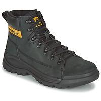 Topánky Muži Polokozačky Caterpillar Brawn Čierna
