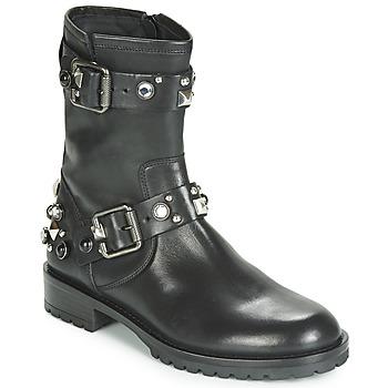 Topánky Ženy Polokozačky Tosca Blu GISELLE Čierna