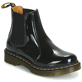 Topánky Ženy Polokozačky Dr Martens 2976 PATENT LAMPER Čierna
