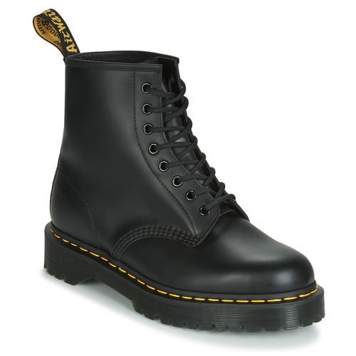 Topánky Polokozačky Dr Martens 1460 BEX SMOOTH Čierna