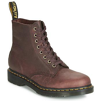 Topánky Muži Polokozačky Dr Martens 1460 PASCAL Hnedá