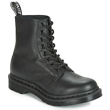 Topánky Ženy Polokozačky Dr Martens 1460 PASCAL MONO Čierna