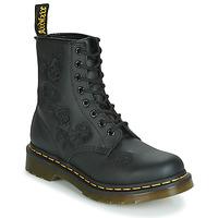 Topánky Ženy Polokozačky Dr Martens 1460 VONDA MONO SOFTY T Čierna