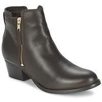 Topánky Ženy Polokozačky Shoe Biz ROVELLA Hnedá