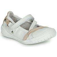 Topánky Dievčatá Balerínky a babies Ramdam BEZIERS Biela
