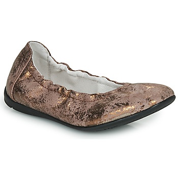 Topánky Dievčatá Balerínky a babies Ramdam LIBRE Bronzová