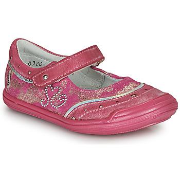 Topánky Dievčatá Balerínky a babies GBB ILEANA Ružová