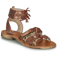Topánky Dievčatá Sandále Catimini CABRI Hnedá