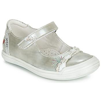 Topánky Dievčatá Balerínky a babies GBB MARION Strieborná