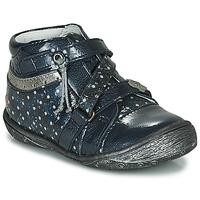 Topánky Dievčatá Polokozačky GBB NADETTE Námornícka modrá