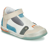Topánky Chlapci Sandále GBB PERCEVAL Biela / Béžová / Modrá