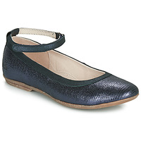 Topánky Dievčatá Balerínky a babies Achile DANIELA Námornícka modrá