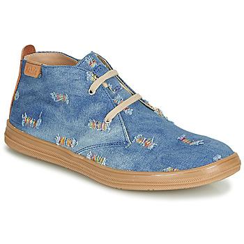 Topánky Dievčatá Členkové tenisky Achile ANDREA Modrá