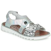 Topánky Dievčatá Sandále Achile HIKARI Strieborná