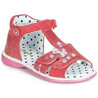 Topánky Dievčatá Sandále Catimini PUCE Ružová