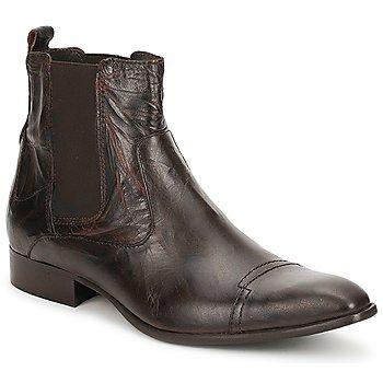Topánky Muži Polokozačky Carlington RINZI Hnedá