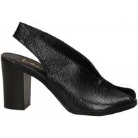 Topánky Ženy Sandále Lemaré PITONE/FIESOLE nero