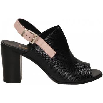 Topánky Ženy Sandále Lemaré FIESOLE nero-rosa-3390