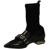 Topánky Ženy Polokozačky Mivida TEQUILA/MASAI nero-nero