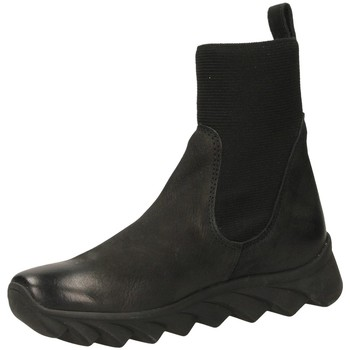 Topánky Ženy Polokozačky Fabbrica Dei Colli READY FOND.TESSUTO 00282-nero