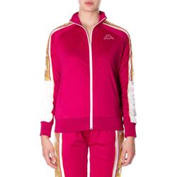 Oblečenie Ženy Mikiny Kappa BANDA 10 ANAY 906-rosso-bianco
