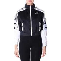 Oblečenie Ženy Mikiny Kappa BANDA 10 ANTEY 903-nero-bianco