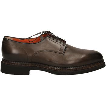 Topánky Muži Derbie Santoni DERBY 5F.TOM.LISCIA tum32-marrone