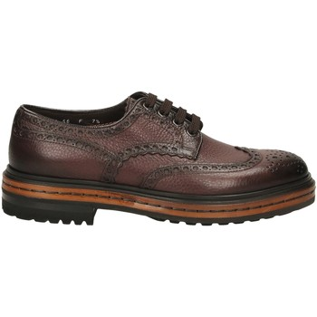 Topánky Muži Derbie Santoni DERBY 4F.C.RONDINE D irs56-marrone