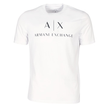 Oblečenie Muži Tričká s krátkym rukávom Armani Exchange 8NZTCJ-Z8H4Z-1100 Biela