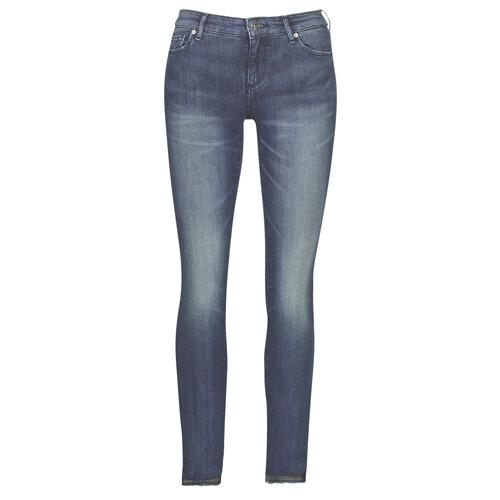 Oblečenie Ženy Džínsy Slim Armani Exchange 6GYJ25-Y2MKZ-1502 Modrá