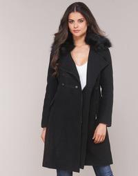 Oblečenie Ženy Kabáty Moony Mood LITELA Čierna