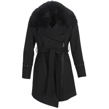 Oblečenie Ženy Kabáty Moony Mood LITEA Čierna