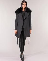 Oblečenie Ženy Kabáty Moony Mood LITEA Šedá