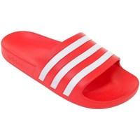 Topánky Muži športové šľapky adidas Originals Adilette Aqua Červená
