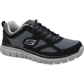 Topánky Muži Nízke tenisky Skechers Burns Agoura Čierna, Sivá