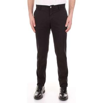 Oblečenie Muži Nohavice päťvreckové Mason's MILANO-CBE024 Nero